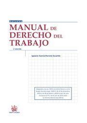 MANUAL DE DERECHO DEL TRABAJO 4ª EDICIÓN 2014