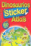DINOSAURIOS ATLAS (STICKER) (+150 PEGATINAS)