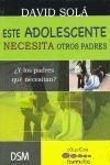 ESTE ADOLESCENTE NECESITA OTROS PADRES