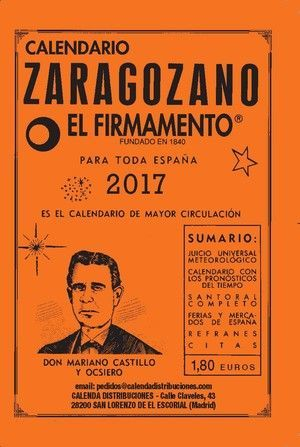 CALENDARIO ZARAGOZANO 2017
