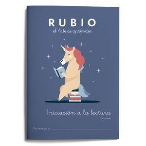 INICIACIÓN A LA LECTURA +4AÑOS (RUBIO)