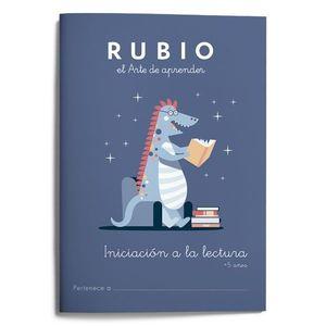 INICIACIÓN A LA LECTURA +5AÑOS (RUBIO)