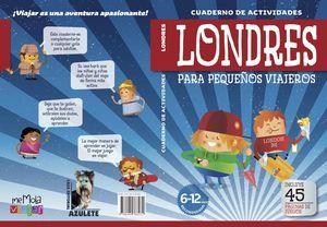 CUADERNO DE ACTIVIDADES LONDRES PARA PEQUEÑOS VIAJEROS