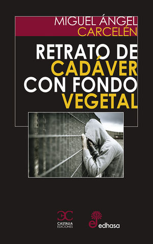 RETRATO DE CADÁVER SOBRE FONDO VEGETAL