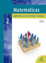 MATEMÁTICAS APLICADAS A LAS CIENCIAS SOCIALES 2º BACHILLERATO