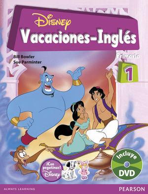 VACACIONES DISNEY INGLÉS 1º DE PRIMARIA