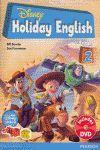 DISNEY HOLIDAY ENGLISH PRIMARY 2