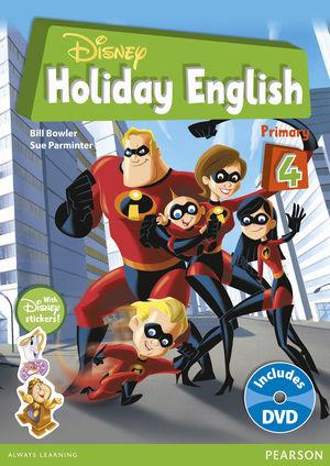 DISNEY HOLIDAY ENGLISH PRIMARY 4
