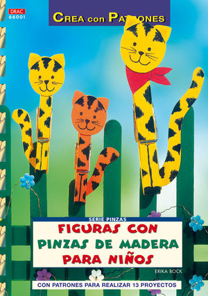 SERIE PINZAS Nº 1. FIGURAS CON PINZAS DE MADERA PARA NIÑOS.