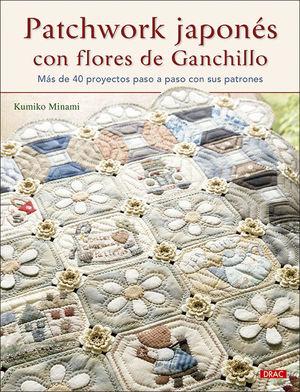 PATCHWORK JAPONES CON FLORES DE GANCHILLO