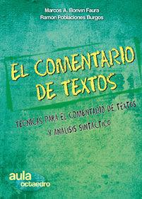 EL COMENTARIO DE TEXTOS