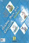 GAMEBOX 6·1 INGLÉS - ANIMALS ( ANIMALES)
