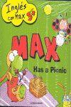 MAX EN INGLÉS 3+. MAX GOES FOR A WALK  MAX HAS A PICNIC
