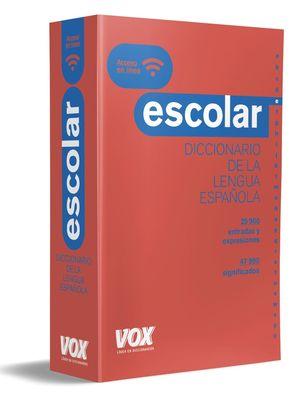 VOX DICCIONARIO ESCOLAR DE LA LENGUA ESPAÑOLA