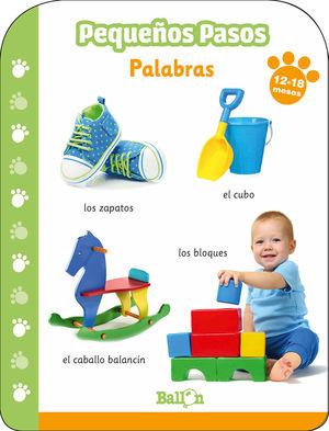 PALABRAS 12-18 MESES PEQUEÑOS PASOS