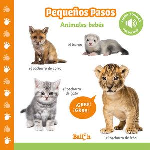 ANIMALES BEBES PP LIBROS SONOROS