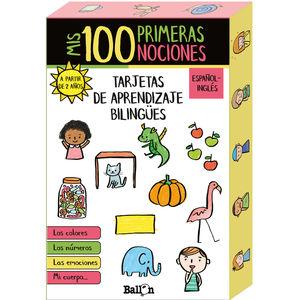 MIS 100 PRIMERAS NOCIONES TARJETAS