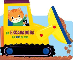LA EXCAVADORA DE NICO EL GATO
