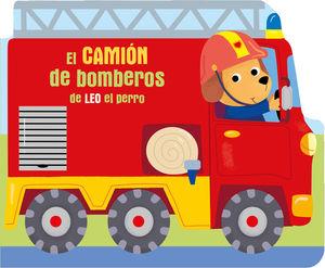 EL CAMION DE BOMBEROS DE LEO EL PERRO