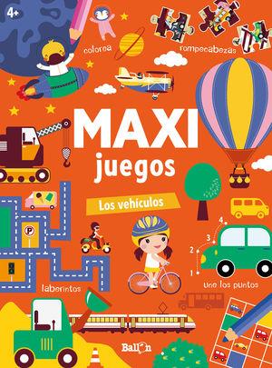 MAXI JUEGOS LOS VEHICULOS