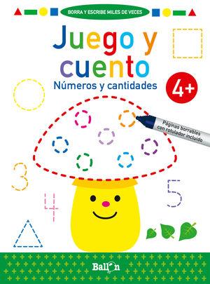 JUEGO Y CUENTO-NUMEROS Y CANTIDADES +4