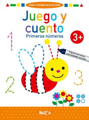 JUEGO Y CUENTO-PRIMEROS NUMEROS +3