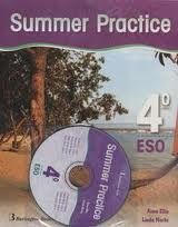 SUMMER PRACTICE 4. ESO  ( LIBRO MAS CD )   *** BURLINGTON BOOKS ***