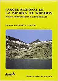 PARQUE REGIONAL SIERRA DE GREDOS MAPA 1:35000 1:25000